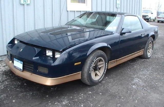 Dark Blue 1985 GM Chevrolet Camaro