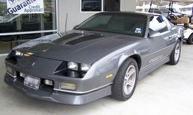 Medium gray 1988 camaro paint cross reference