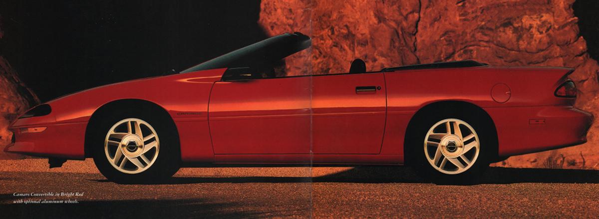 Bright Red 1994 GM Chevrolet Camaro