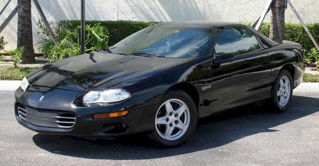 Black 1998 GM Chevrolet Camaro Z28