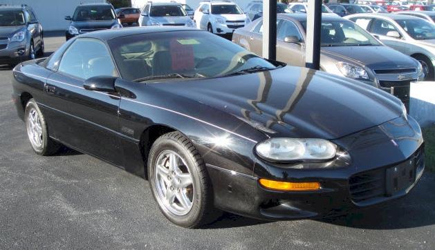 Black 1999 GM Chevrolet Camaro