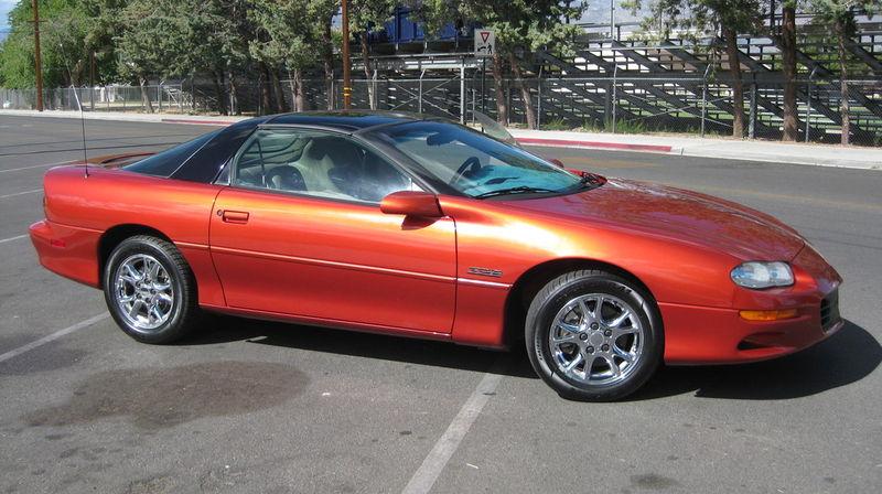 Sunset Orange 2002 GM Chevrolet Camaro