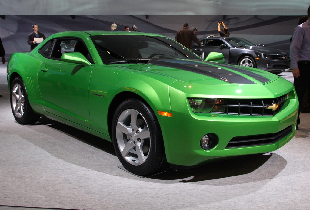 Synergy Green 2010 GM Camaro