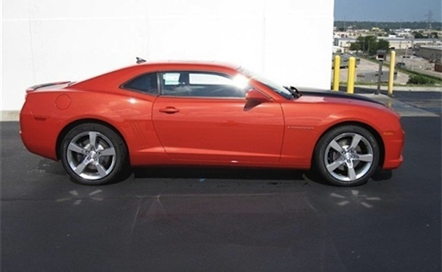 Inferno Orange 2017 Gm Chevrolet Camaro