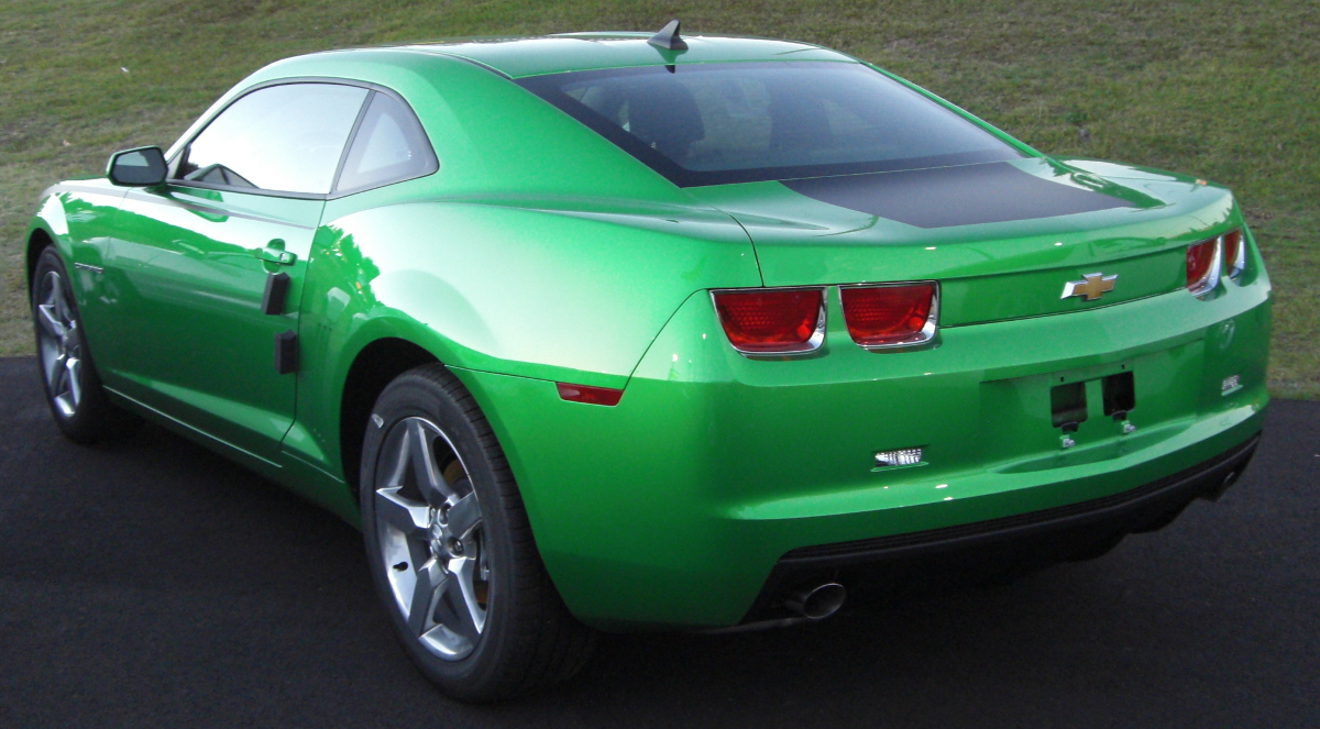 Synergy Green 2011 GM Camaro