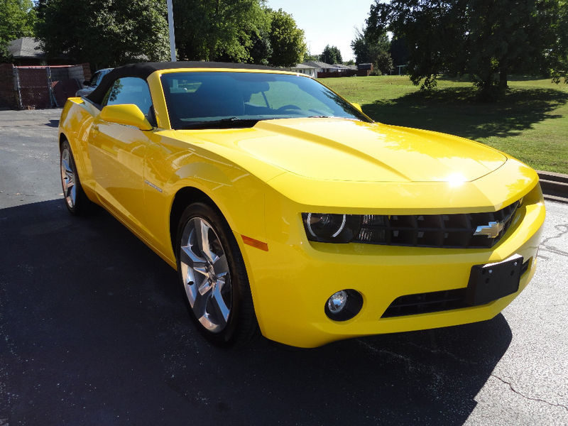 Rally Yellow 2012 GM Chevrolet Camaro