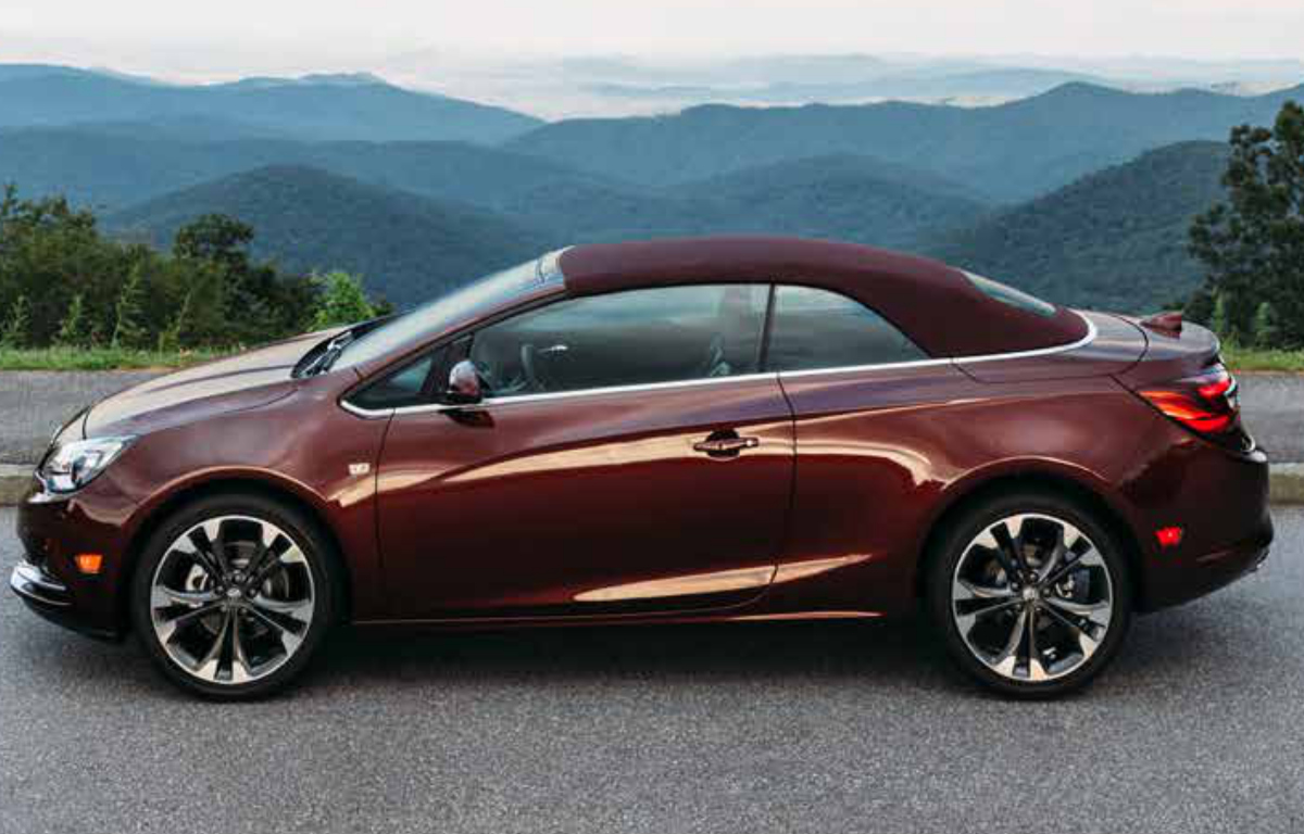 Rioja Red 2019 GM Buick Cascada