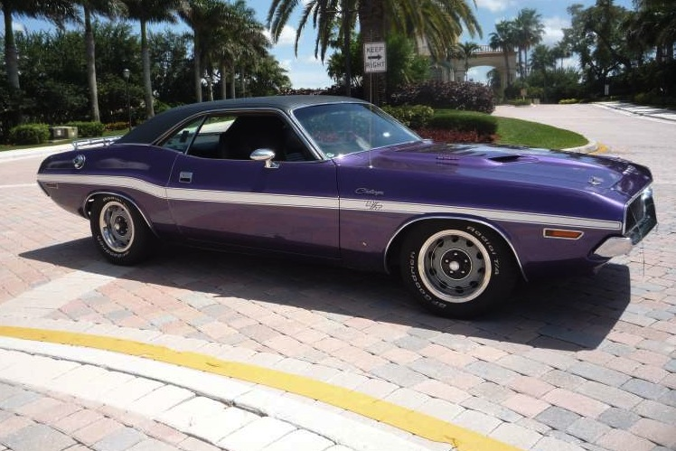 Plum Crazy 1970 Challenger Paint Cross Reference