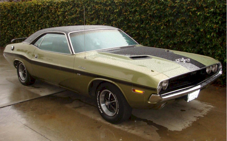 Light Green 1970 Challenger Paint Cross Reference