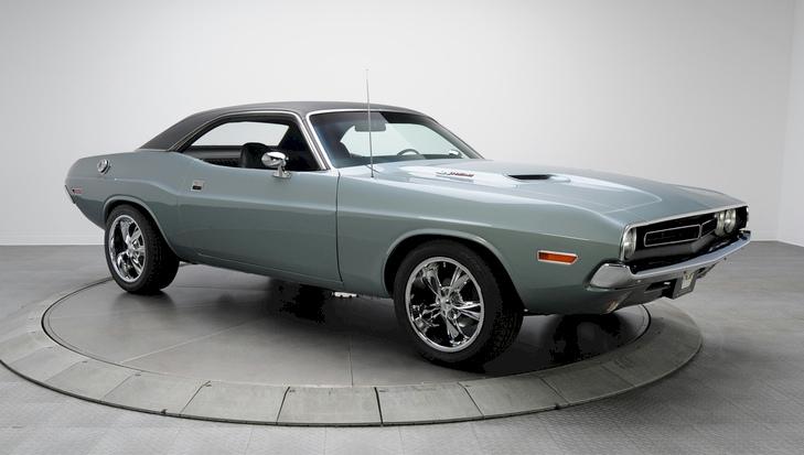 Light Gunmetal 1971 Chrysler Dodge Challenger