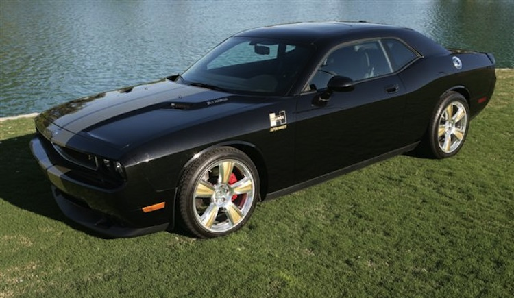 Brilliant Black 2009 Chrysler Dodge Challenger