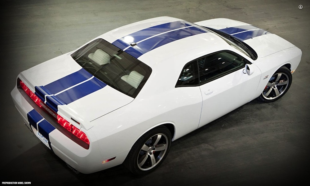 Bright White 2011 Chrysler Dodge Challenger