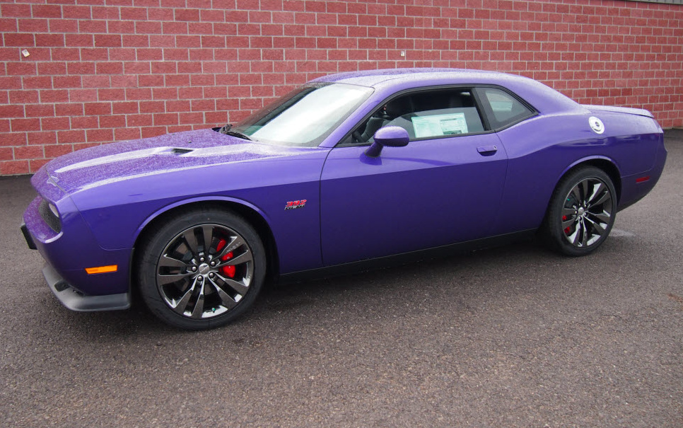 Plum Crazy 2014 Challenger SRT8 - Paint Cross Reference