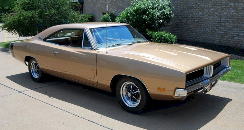 Dark Bronze 1969 Chrysler Charger