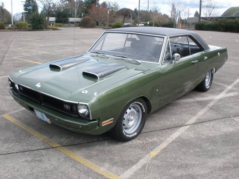 Dark Green 1970 Charger Paint Cross Reference