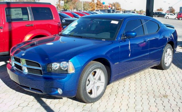 Deep Water Blue 2010 Chrysler Dodge Charger