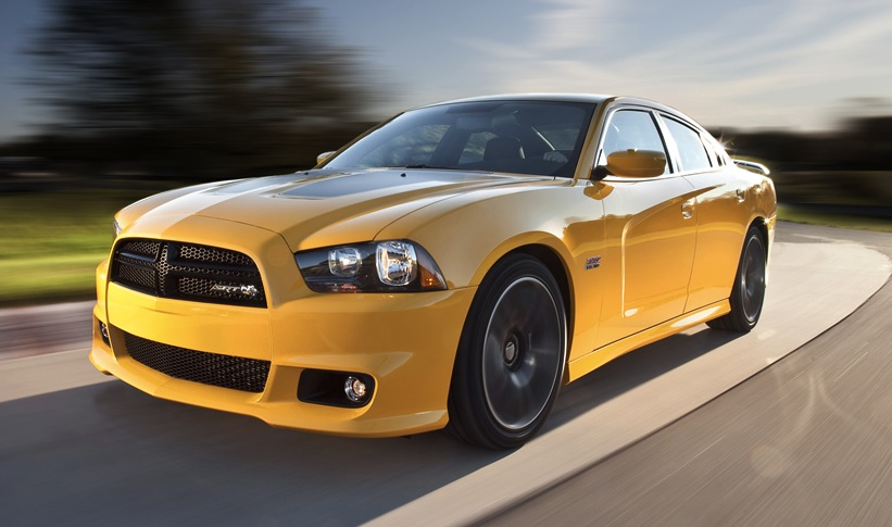 Stinger Yellow 2012 Chrysler Charger