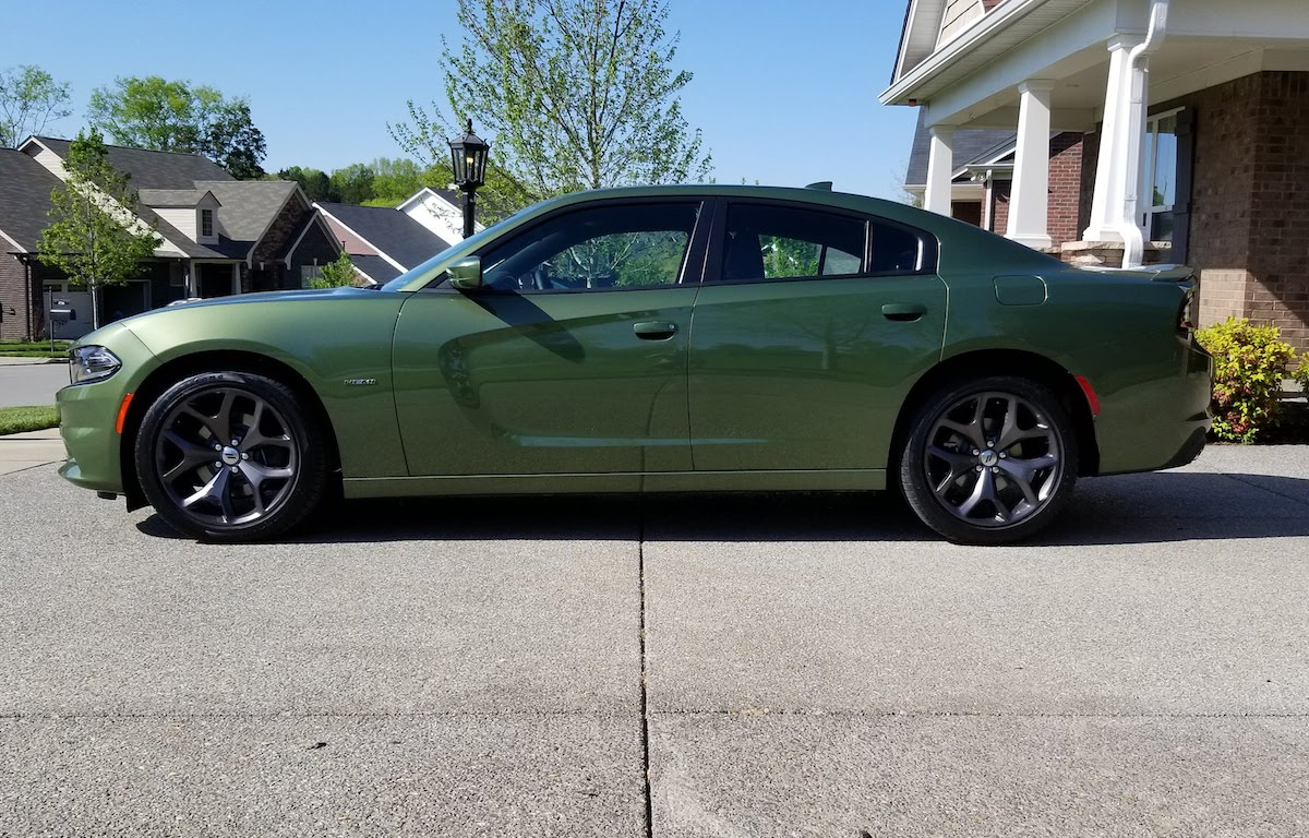 F8 Green 2018 Chrysler Dodge Charger - Paint Cross Reference