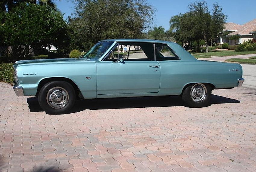 Azure Aqua 1964 GM Chevrolet Chevelle