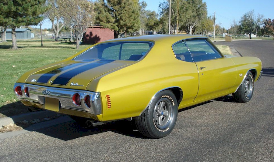 Placer gold 1971 chevelle paint cross reference for Placer motors used cars