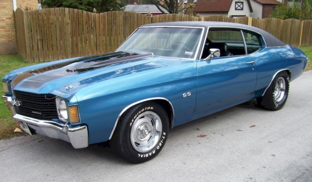 1970 Mulsane Blue Vette Coupe | Autos Post