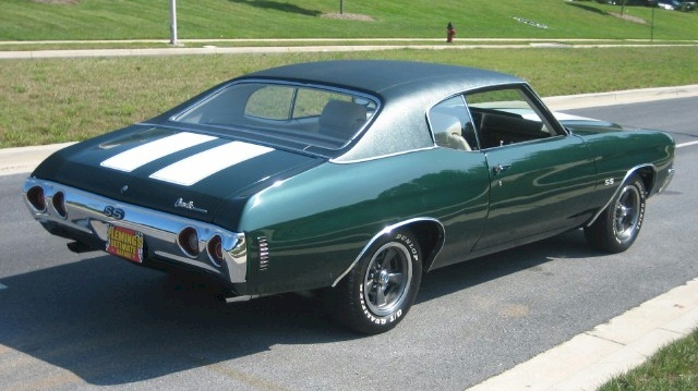 Paint Codes  For A  Chevelle