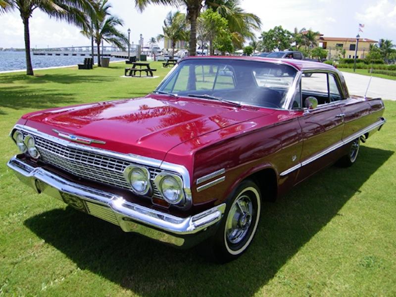 Palomar Red 1963 Chevrolet Impala