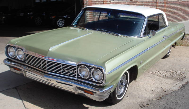 Meadow Green 1964 Chevrolet Impala