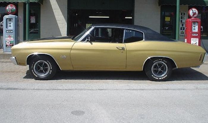 Champagne Gold 1970 GM Chevrolet Chevelle