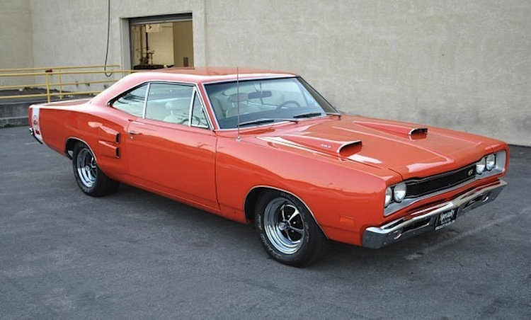 Orange 1969 Chrysler Dodge Coronet Super Bee