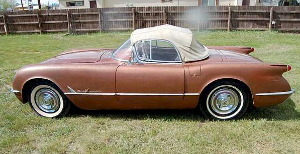 Corvette Copper 1955 gm Chevrolet Corvette Convertible