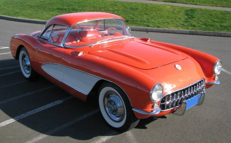 Venetian Red 1956 GM Chevrolet Corvette