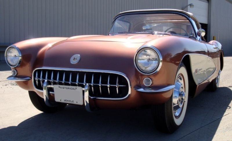 Aztec Copper 1957 GM Corvette