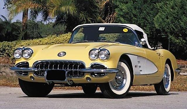 1958 GM Chevrolet Corvette
