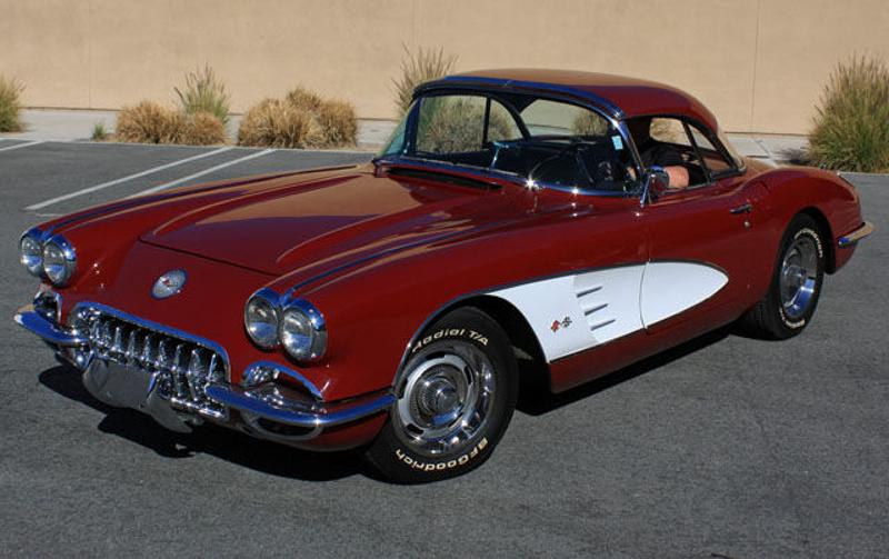Honduras Maroon 1960 GM Chevrolet Corvette