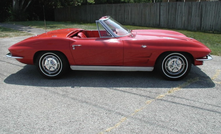 Riverside Red 1963 GM Chevrolet Corvette