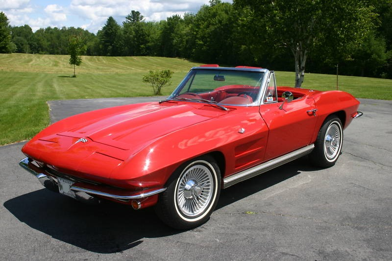 Riverside Red 1964 GM Chevrolet Corvette