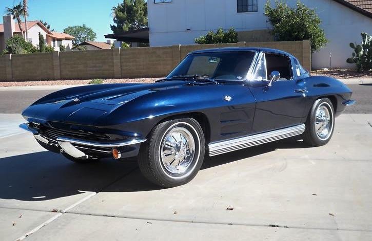 Daytona Blue 1964 GM Chevrolet Corvette