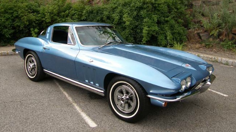Nassau Blue 1965 GM Corvette