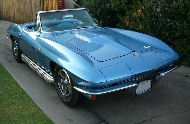 Nassau Blue 1966 GM Chevrolet Corvette - Paint Cross Reference