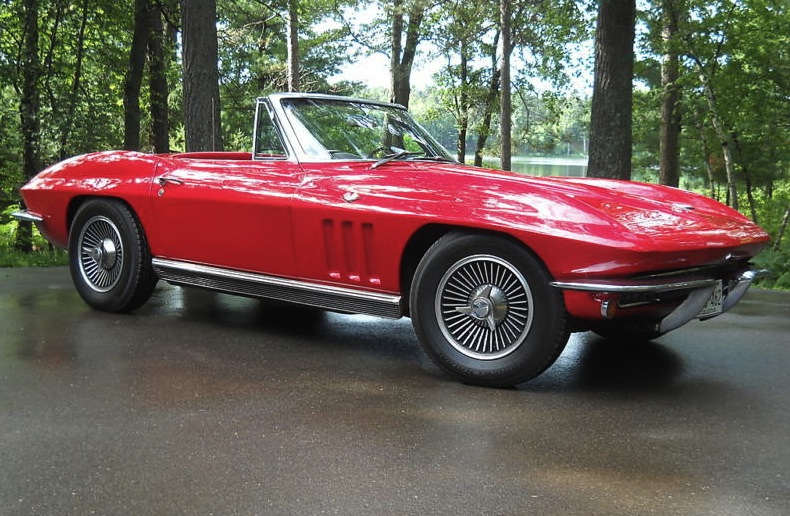 Rally Red 1966 GM Chevrolet Corvette