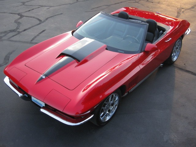 Rally Red 1967 GM Chevrolet Corvette