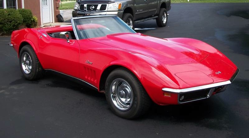 Rally Red 1968 GM Chevrolet Corvette