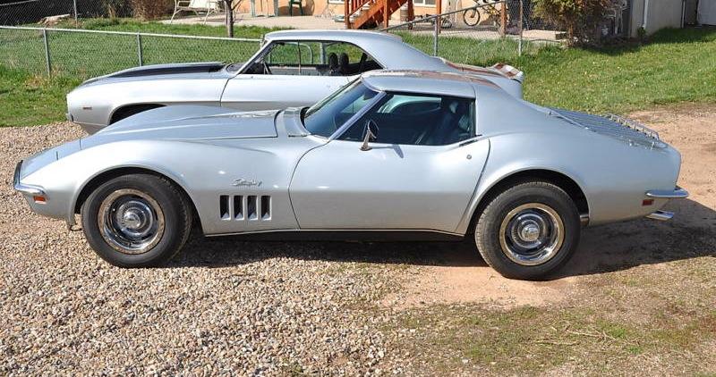Cortez Silver 1969 GM Chevrolet Corvette