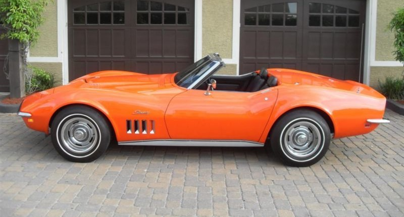 Monaco Orange 1969 GM Chevrolet Corvette