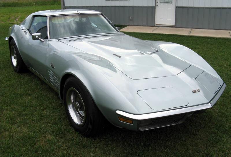 Cortez Silver 1970 GM Chevrolet Corvette