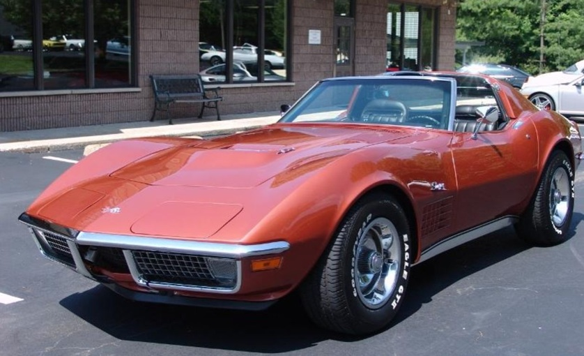 Corvette Bronze 1970 GM Chevrolet Corvette