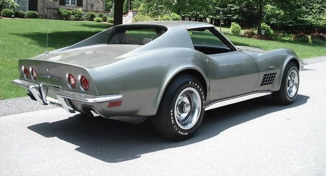 Nevada Silver 1971 GM Chevrolet Corvette
