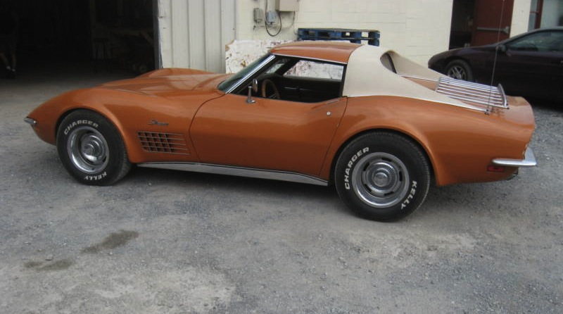Ontario Orange 1971 GM Chevrolet Corvette