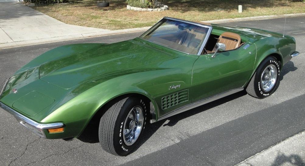 Elkhart Green 1972 GM Chevrolet Corvette